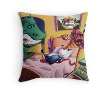 The Creatures are stirring. Throw Pillow