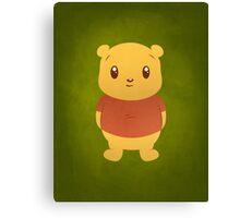 Cute Pooh Bear Canvas Print