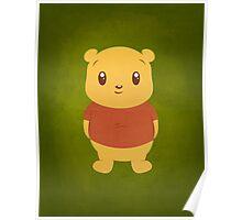 Cute Pooh Bear Poster