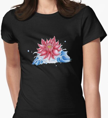 Lotus Tee Womens Fitted T-Shirt