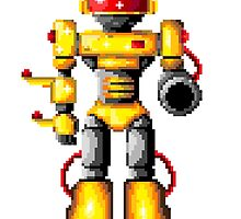 90's robot by Luke Barclay