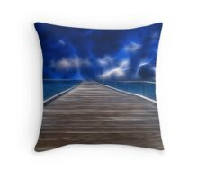 Eerie Night Throw Pillow