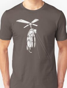 Cat Helicopter searching at ya T-Shirt