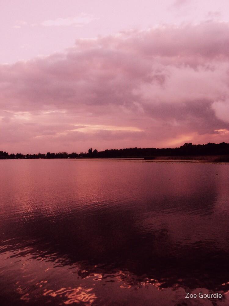 Raging sky by schizomania
