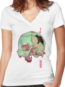 Psyche Women's Fitted V-Neck T-Shirt