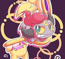 Hoopa Lord of The Rings by Eat Sleep Poke Repeat