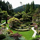 Gardens of BC Canada by AnnDixon