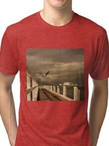 Sorrento - near ferry terminal Tri-blend T-Shirt