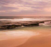 """Koonya back beach Sorrento   """"Muted Hues""""  Sticker"""