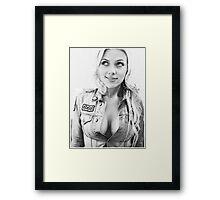 Scarlett Johansson Framed Print