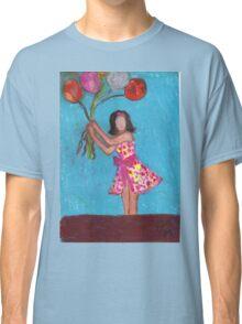 Balloon Girl Classic T-Shirt