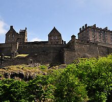 Edinburgh Castle #1 by Finbarr Reilly