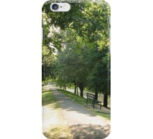 Summer along the canal Hythe Kent iPhone Case/Skin