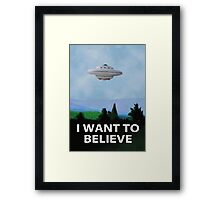 Planet X Files Framed Print