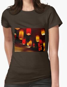 Colour Blocks Womens Fitted T-Shirt