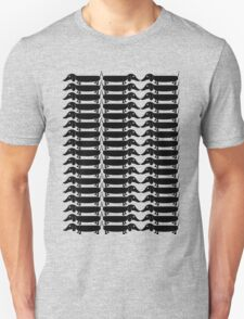 Sausage Dog Overload Unisex T-Shirt