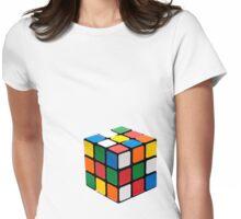 Rubix Cube Womens Fitted T-Shirt
