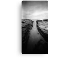 when time happens: the rocks Canvas Print