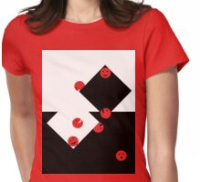 Playing balls Womens Fitted T-Shirt