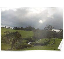 Hills Serene Poster