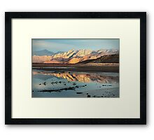 Tranquility in Reflection Framed Print