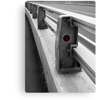 Red Reflector Canvas Print
