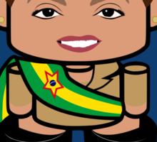 Dilma Rousseff Politico'bot Toy Robot 2.0 Sticker