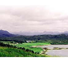 A valley in Scoltand close to South Loch Ness Photographic Print