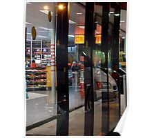 transported ~ a shopfront Poster
