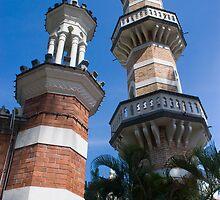 Jamek Mosque by Werner Padarin