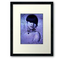 Lady Pearl Framed Print
