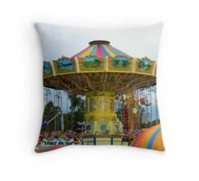 Get your tickets for the next  ride Throw Pillow