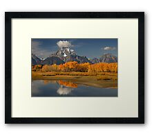 Fall in the Mountains Framed Print
