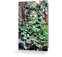 Lost city, Shan State, Burma Greeting Card