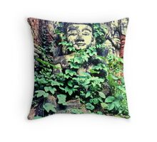 Lost city, Shan State, Burma Throw Pillow
