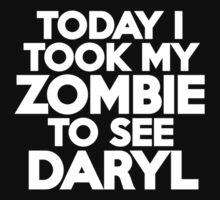 Today I took my zombie to see Daryl Kids Clothes