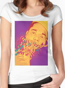Happily melting Notorious B.I.G. Women's Fitted Scoop T-Shirt