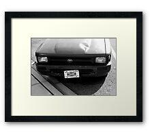 Driver Education Framed Print