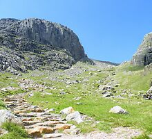The Lake District: Looking up to Scafell by Rob Parsons