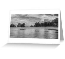Phang Nga Sculptures Greeting Card