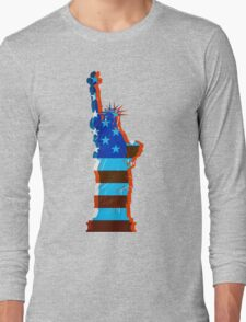Statue of liberty / USA Long Sleeve T-Shirt