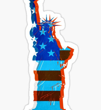 Statue of liberty / USA Sticker
