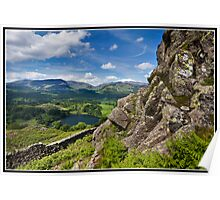 Loughrigg Fell views Poster