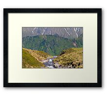 Alpine Layers Framed Print