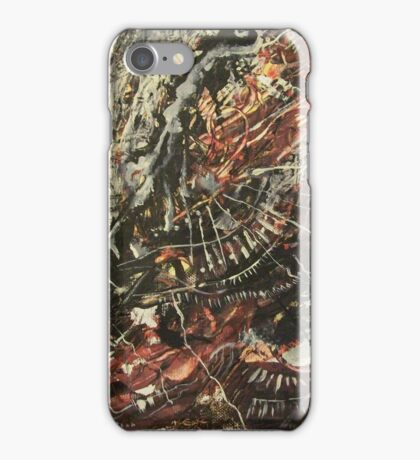 December Heartbreak oil on canvas iPhone Case/Skin
