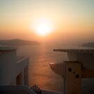Santorini Dreamscape by Saki