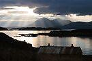 Isle of Skye from Coillegillie, Applecross Peninsula, Scotland. by photosecosse /barbara jones