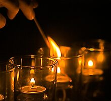 Candlelight by Jeff Blanchard