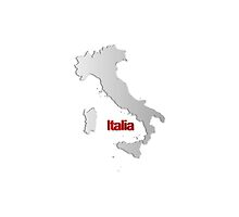 Map of Italy by gruml