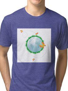 Eco planet Tri-blend T-Shirt